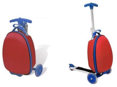 Trotinette valise