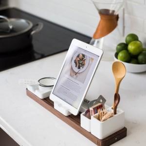 tablette dans cuisine