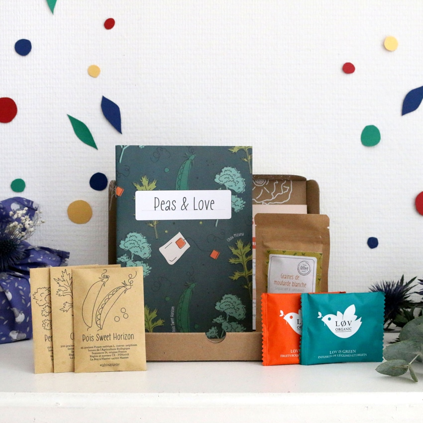 Peas & Love box jardinage