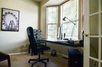 Cantilevered Desk in Bay Window   Labra Design+Build