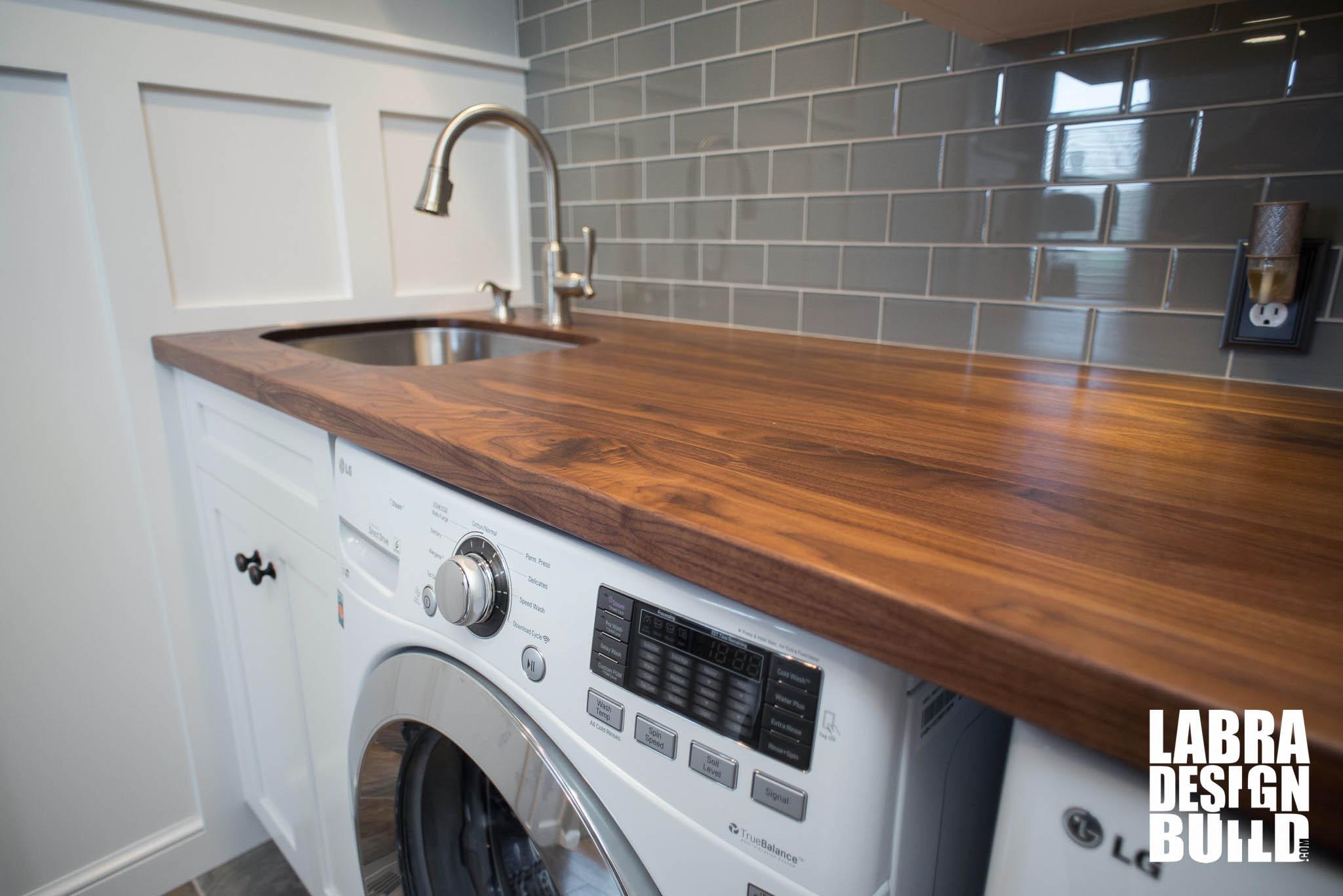 remodel small kitchen home depot shelves laundry room & mudroom renovation, novi mi labra design build