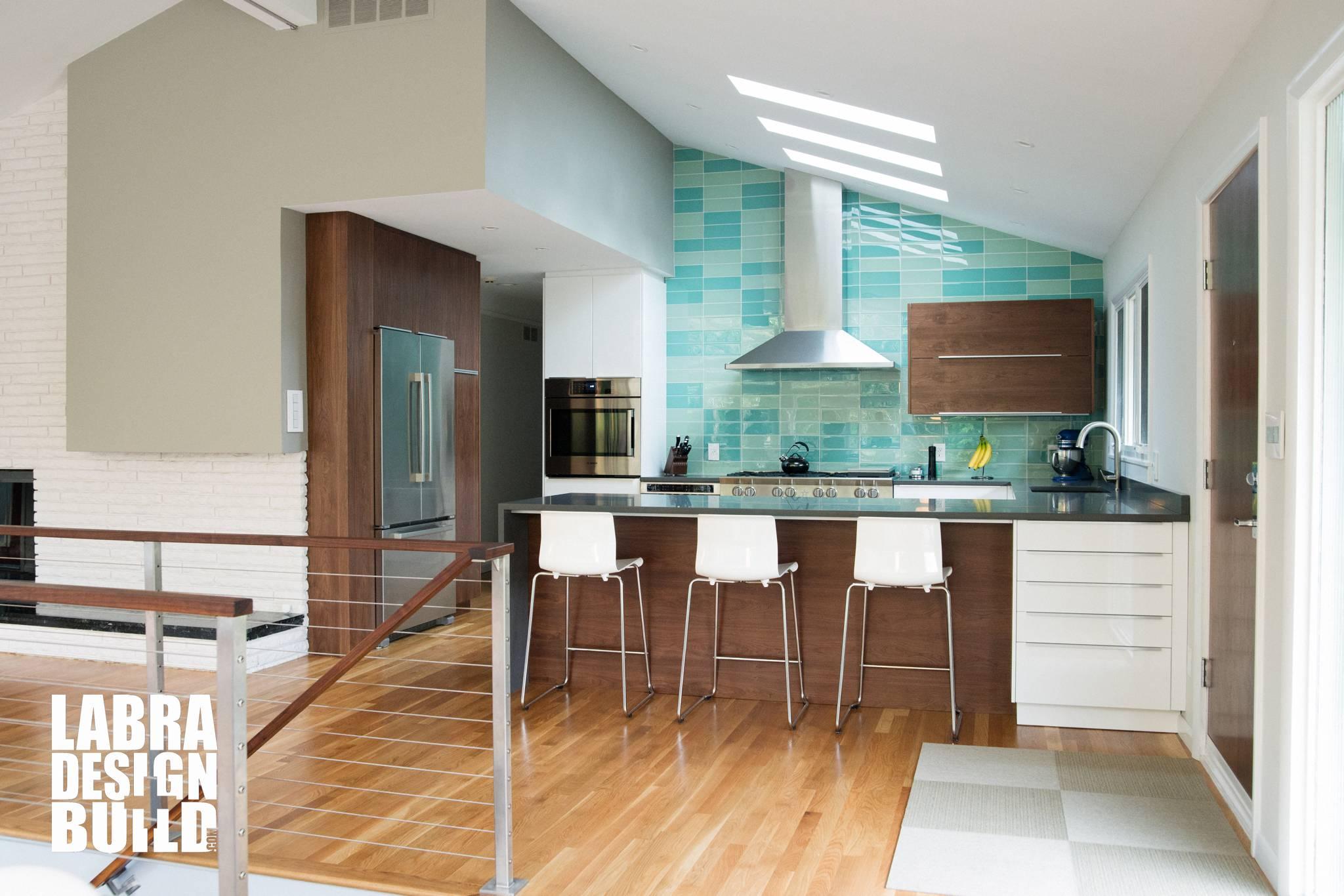 Mid Century Modern Kitchen Remodel Labra Design Build