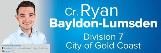 Cr Ryan Bayldon-Lumsden