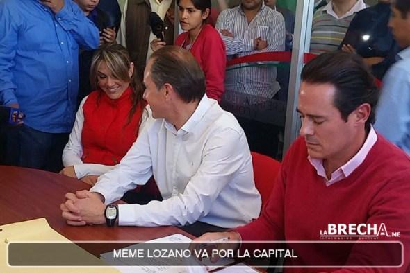 Meme Lozano por la Capital