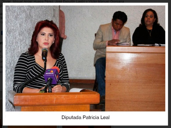 Diputada Patricia Leal-