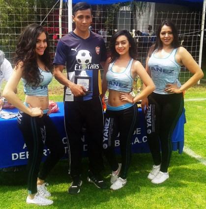 ALBERTO LOPEZ GOLEADOR-Liga Central-