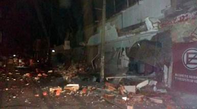hotel destruido en Matias Romero Avendaño-2