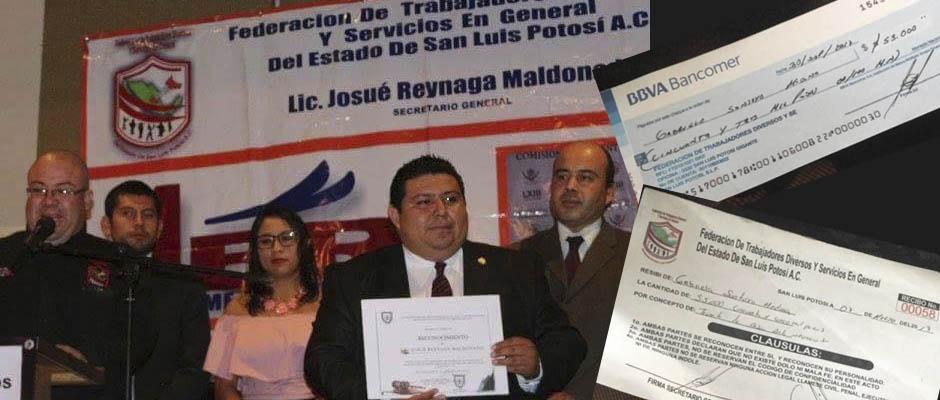 "Por ""estafar gente"" denuncian a Josué Reynaga Maldonado en SLP"