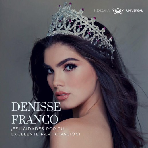 Dennise Franco-Miss Mexico-2017-2