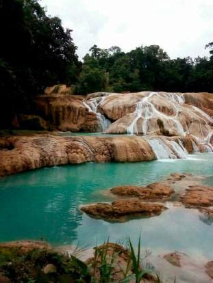 Se secan las Cascadas de Agua Azul-