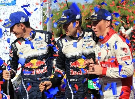 Sebastien Ogier -campeon del Rally México 2018-2