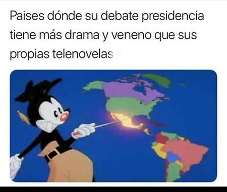 1-memes 1er debate presidencial 2018-