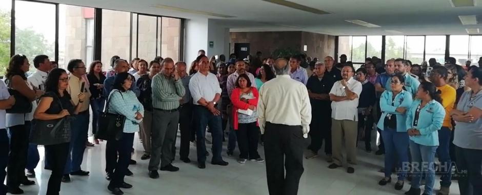 Docentes del Tec San Luis en Protesta Parcial
