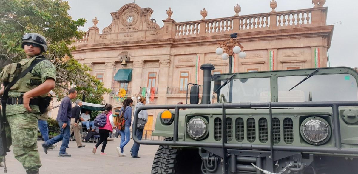 Anuncian Nueva Base Militar en SLP