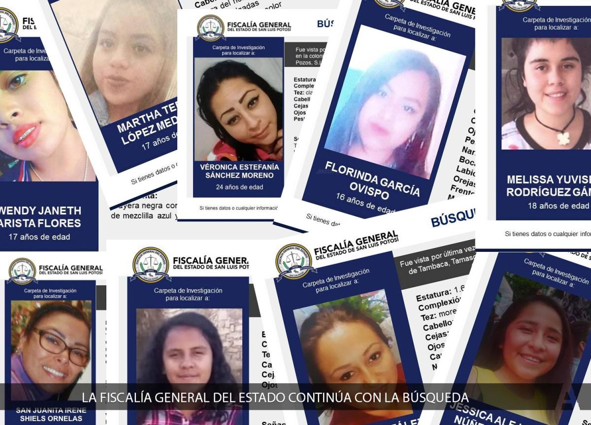 Más de 100 Mujeres Están Desaparecidas en SLP