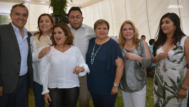 Gabino Morales Celebra 30-amigos-Bety Benavente-