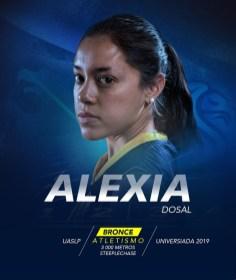 Universiada 2019-Alexia Dosal UASLP