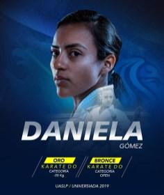 Universiada 2019-Daniela Guadalupe-Karate Do-