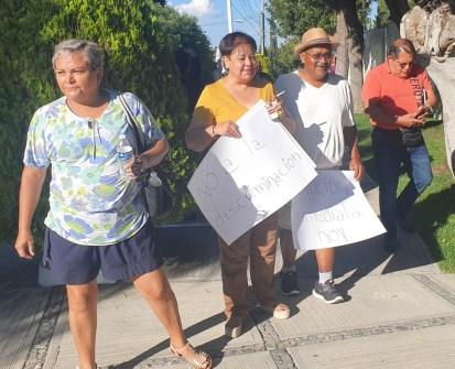 Protesta Ministerios Publicos SLP 3