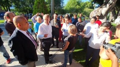 Protesta Ministerios Publicos SLP
