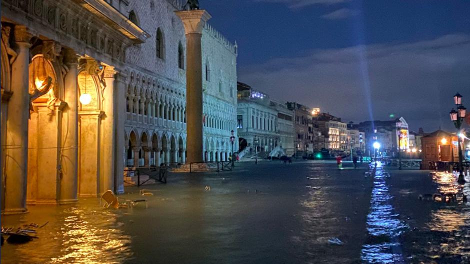 Venecia inundada como en 1966-0
