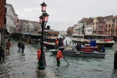 Venecia inundada como en 1966-9