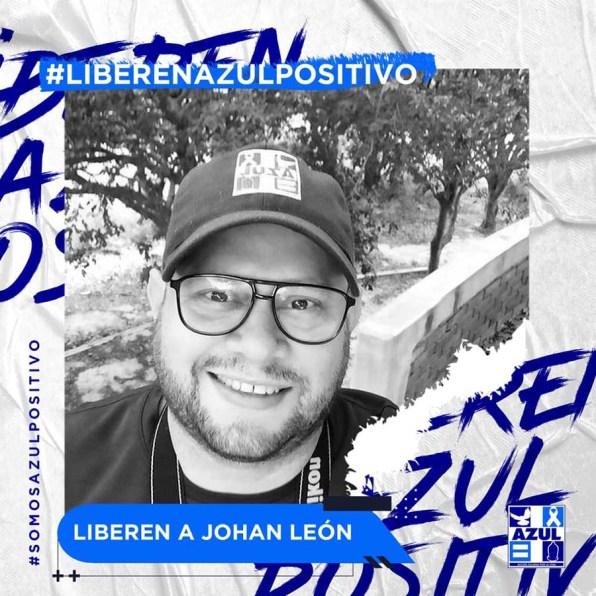 Azul Positivo-Liberen a Johan Leon-