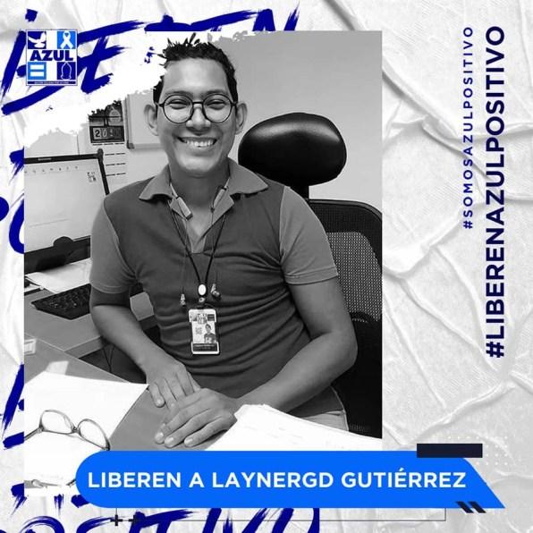 Azul Positivo-Liberen a Laynergd Gutierrez