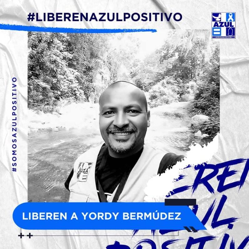 Azul Positivo-Liberen a Yordy Bermudez