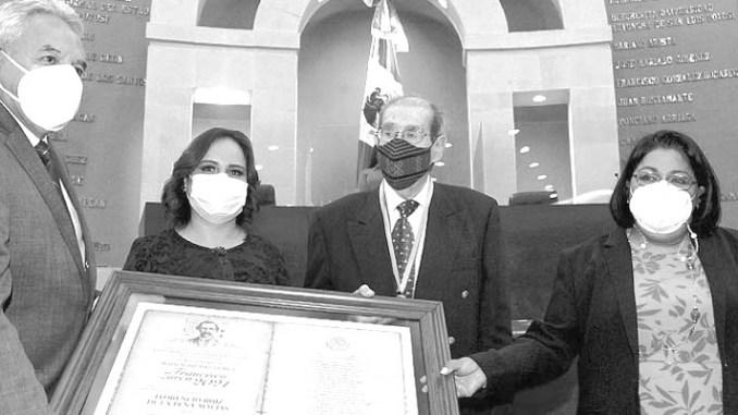 Florencio Ruiz de la Peña galardonado