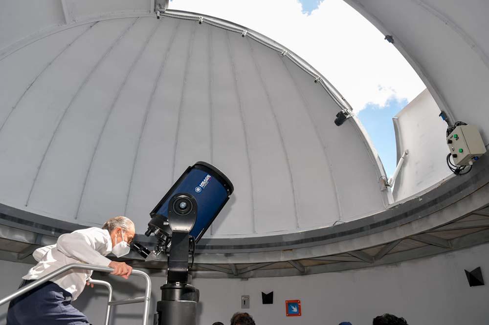 Museo El Meteorito inaugurado por JMCL