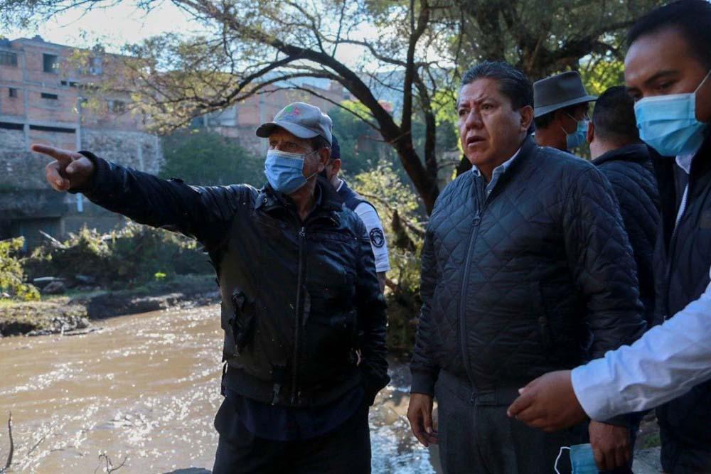 Ricardo Monreal anunció rescate de zonas inundadas