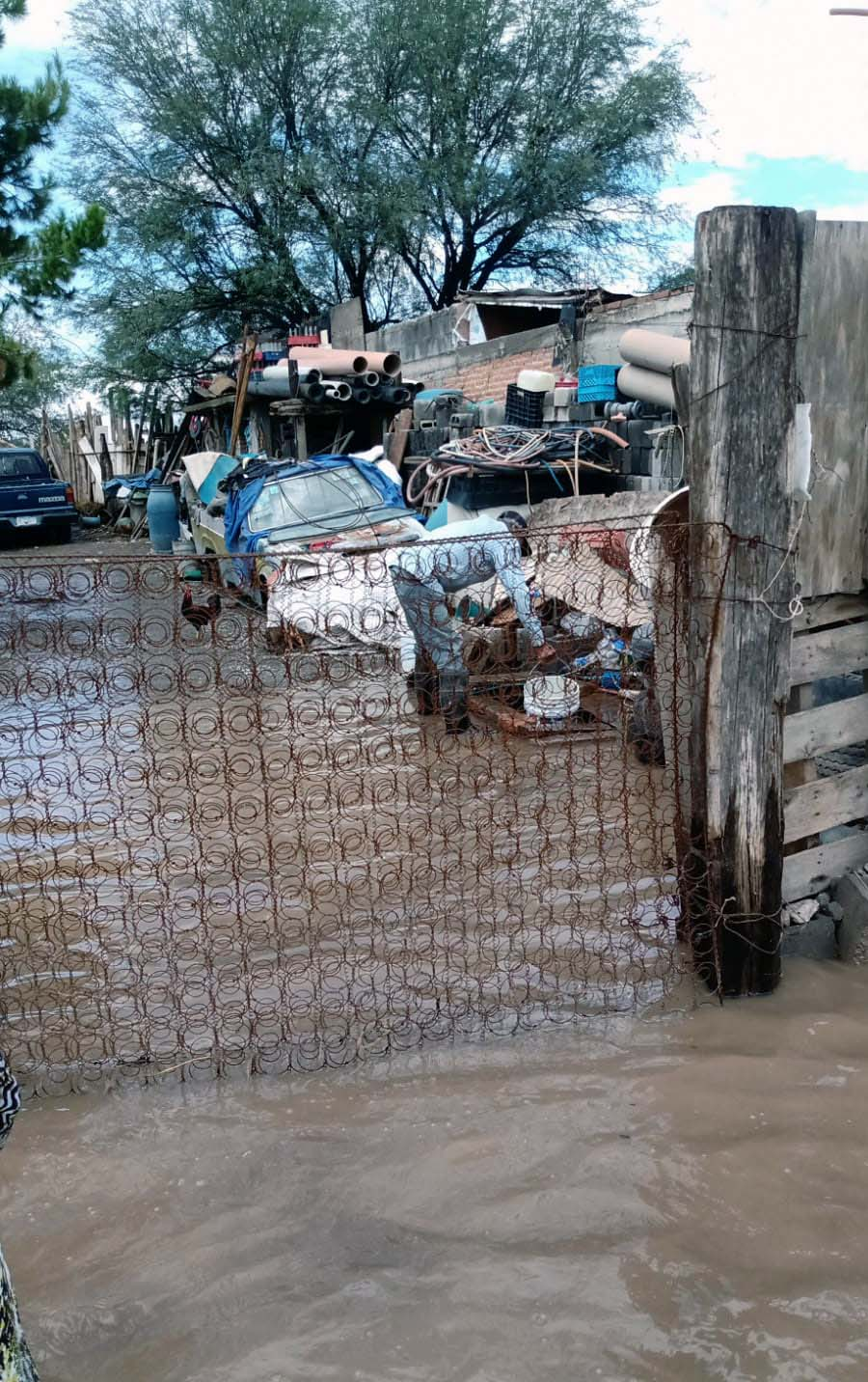 fuertes lluvias en la zona metropolitana