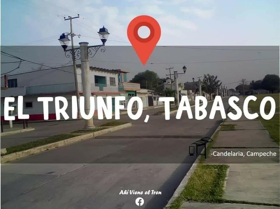 Tren Maya Triunfo Tabasco