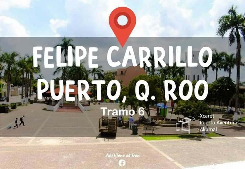 Tren Maya Felipe Carrillo Puerto