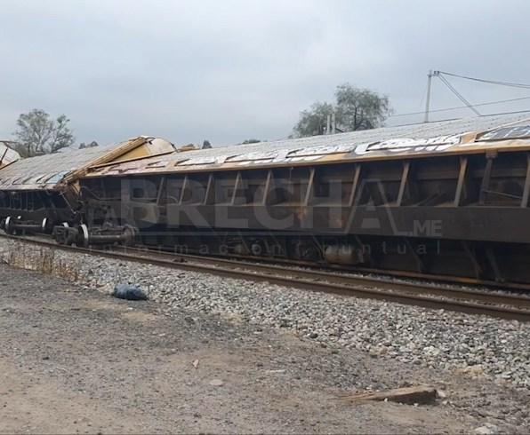 Tren descsrrilado Kansas City