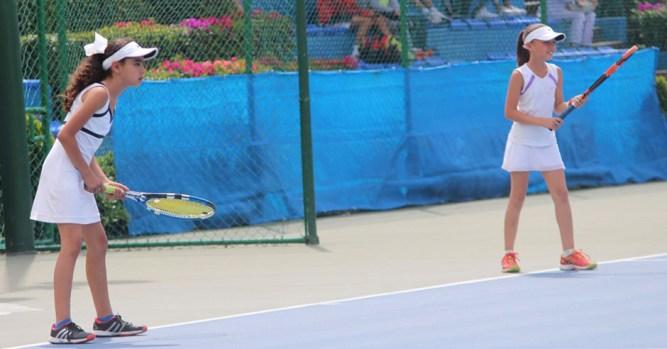 1er Campeonato Nacional Tenis Grand Slam -Campeonas Cat 10 años dobles