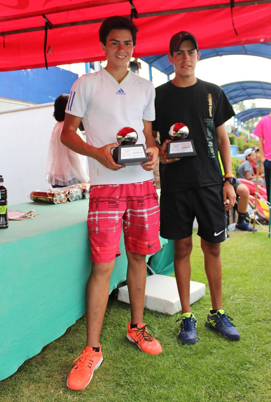 1er Campeonato Nacional Tenis Grand Slam -Campeoness cat 16 años (dobles)