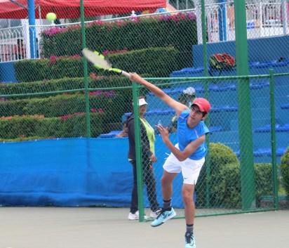 1er Campeonato Nacional Tenis Grand Slam -finalista 2 cat 16 años
