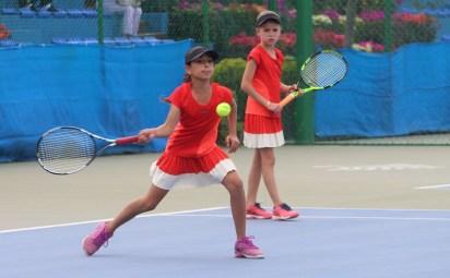 1er Campeonato Nacional Tenis Grand Slam -Finalistas dobles cat 10 años (Gto)