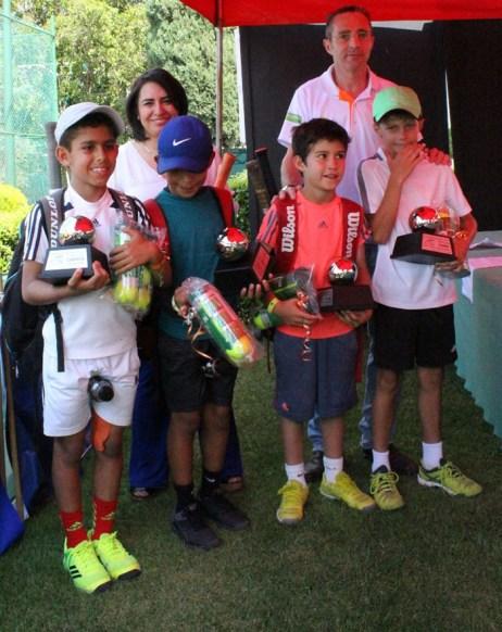 1er Campeonato Nacional Tenis Grand Slam -Premiación 2 cat 10 años dobles