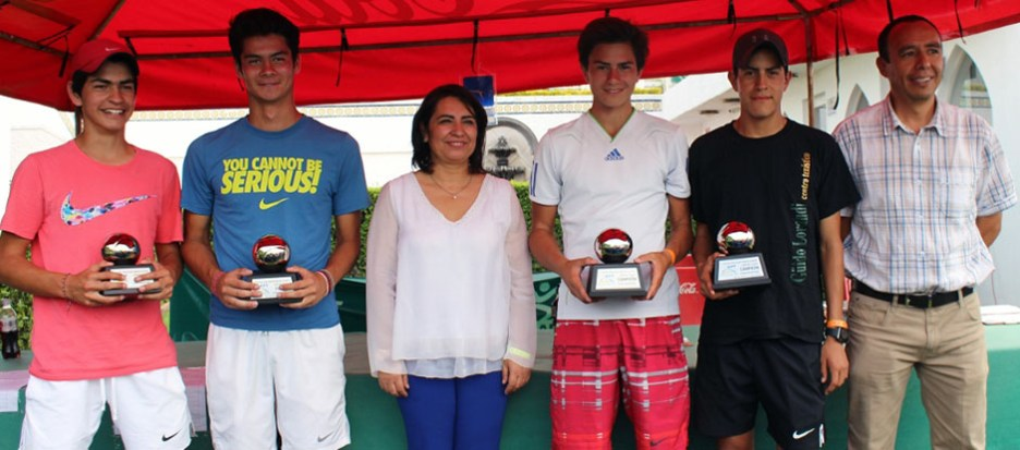 1er Campeonato Nacional Tenis Grand Slam -Premiacion Campeones cat 16 años dobles