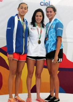 Premiacion 200 m pecho-olimpiada nacional 2017-