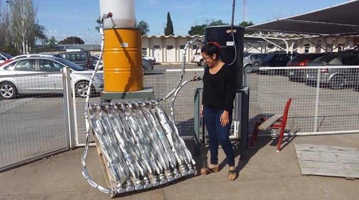 Alumnos de UTN disean calefn solar para barrios carenciados  La Brjula 24