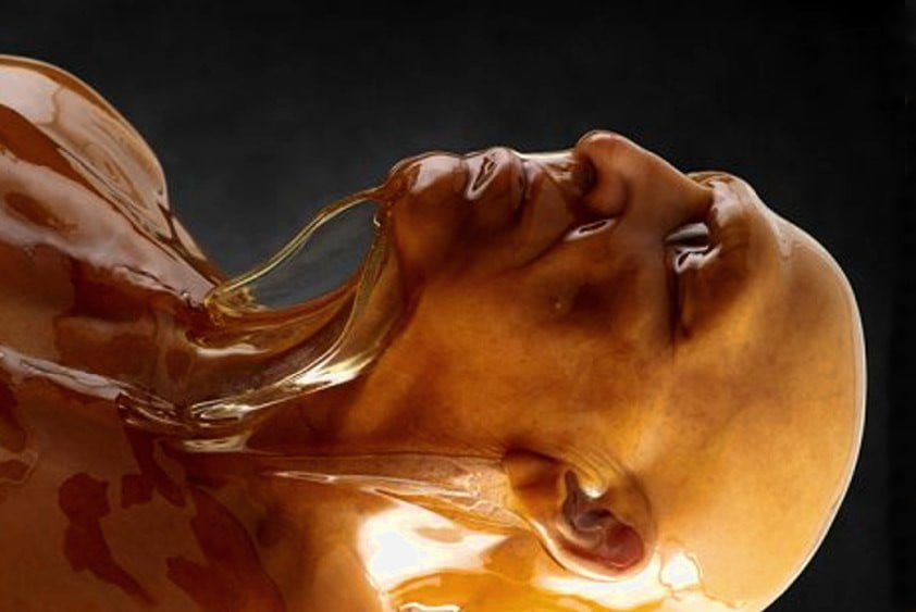 Mellification, the process of dissolving a human body in honey to create a healing confection