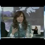 CFK sobre Argentina y los inmigrantes