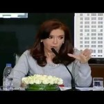 CFK sobre el arroz
