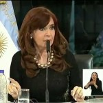 CFK sobre la «interperie»