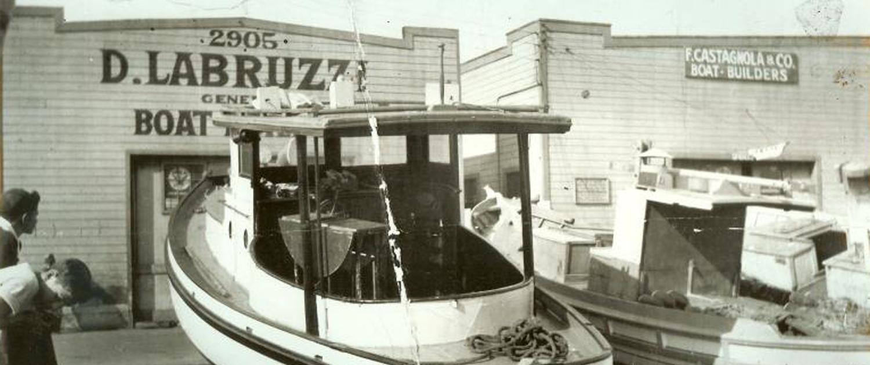 D. LaBruzzi old shop in San Francisco