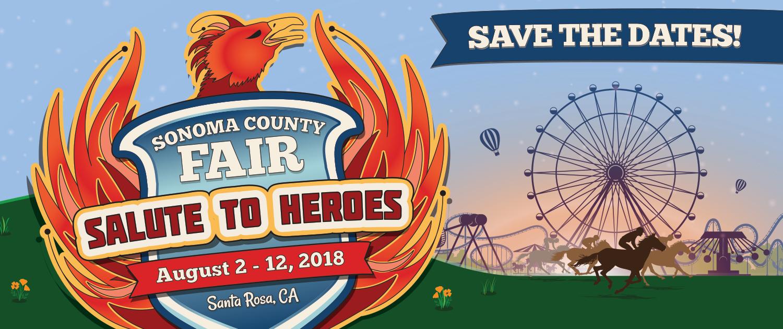 2018 Sonoma County Fair web banner